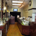 Showcases with Glass to Glass Bonding