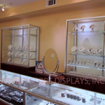 Glass Jewelry Display Cases