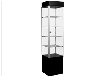 Glass Tower Display