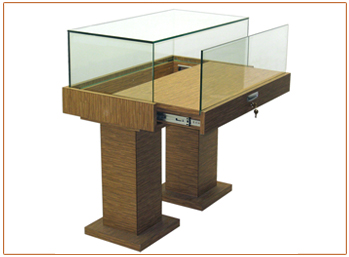 Pedestal Glass Showcase