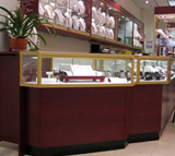 Glass Jewelry Showcases