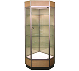 Glass Tower Cabinet