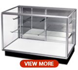 Extra Vision Glass Cabinets