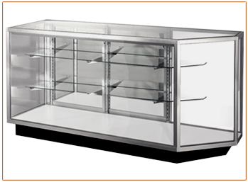 Corner Glass Display Case