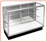 Streamline Extra Vision Glass Display Case