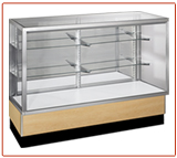 Streamline Full Vision Glass Display Case