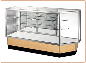 Full Vision Glass Cabinet